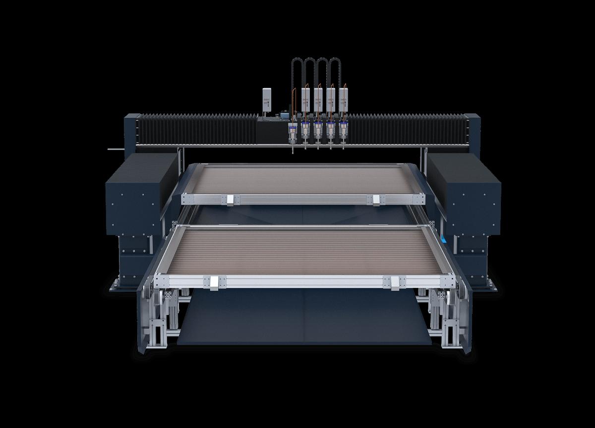 FinJet P waterjet machine