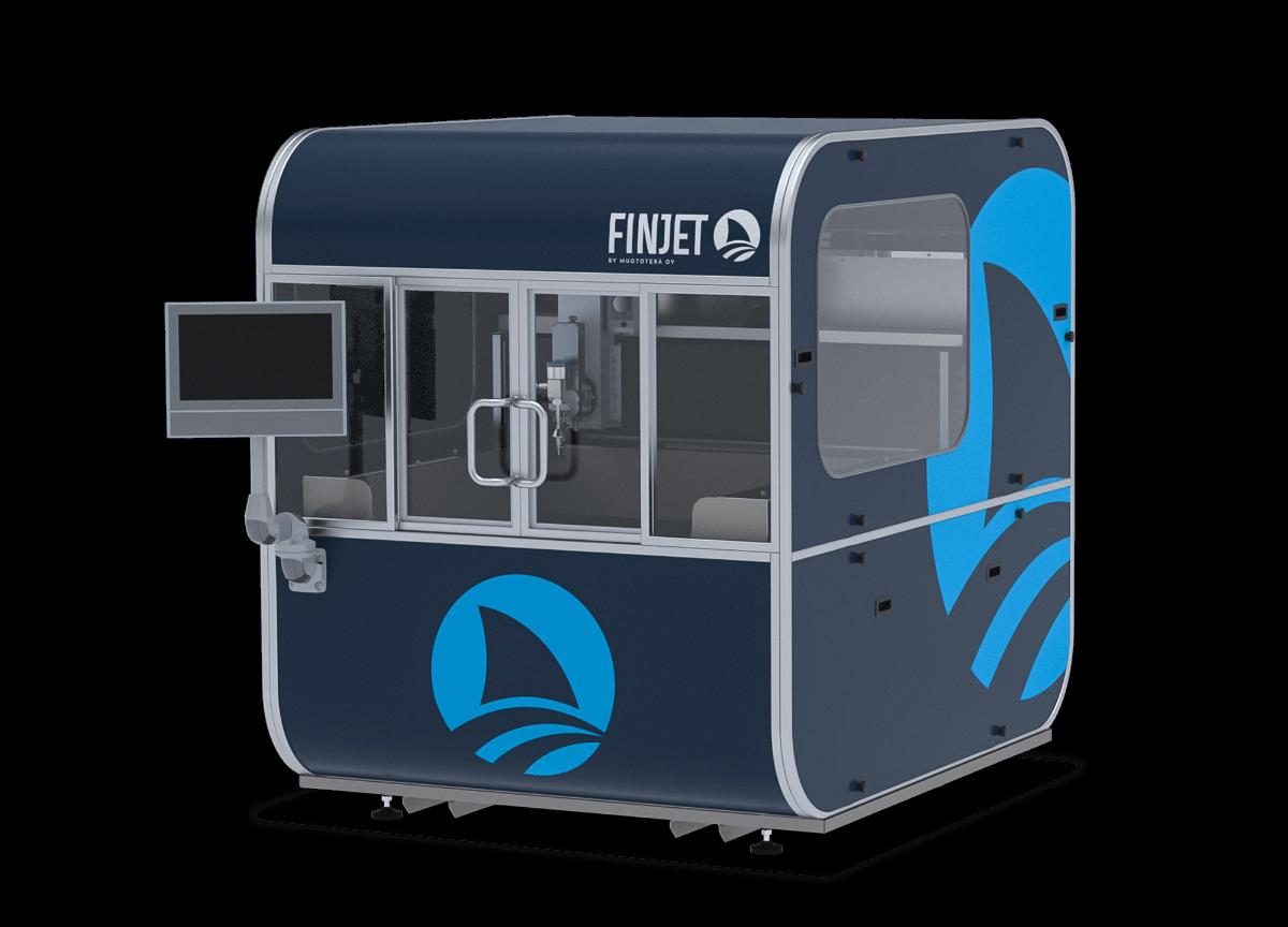 FinJet S waterjet cutting machine