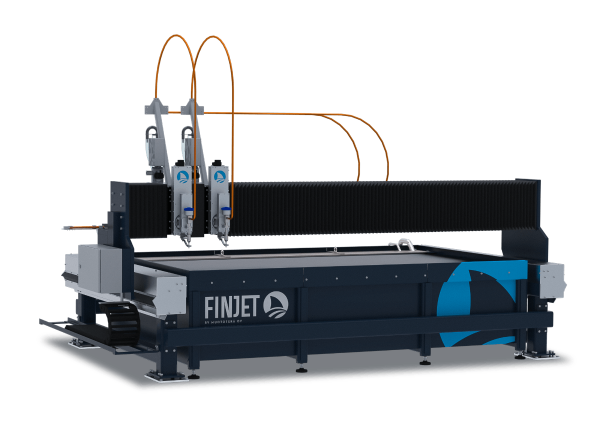 Finjet H cutting machine