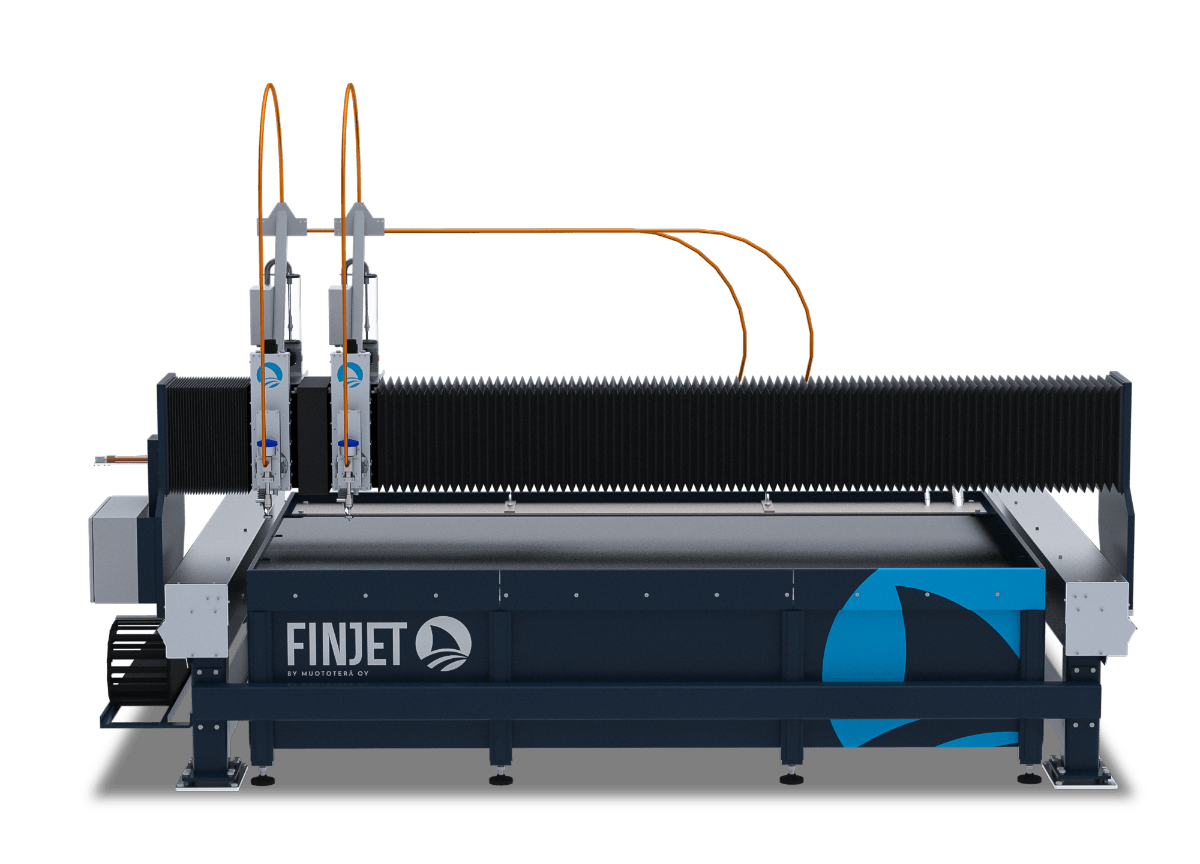 FinJet H waterjet cutting machine