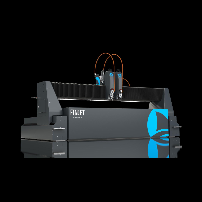 Portal waterjet cutting machine