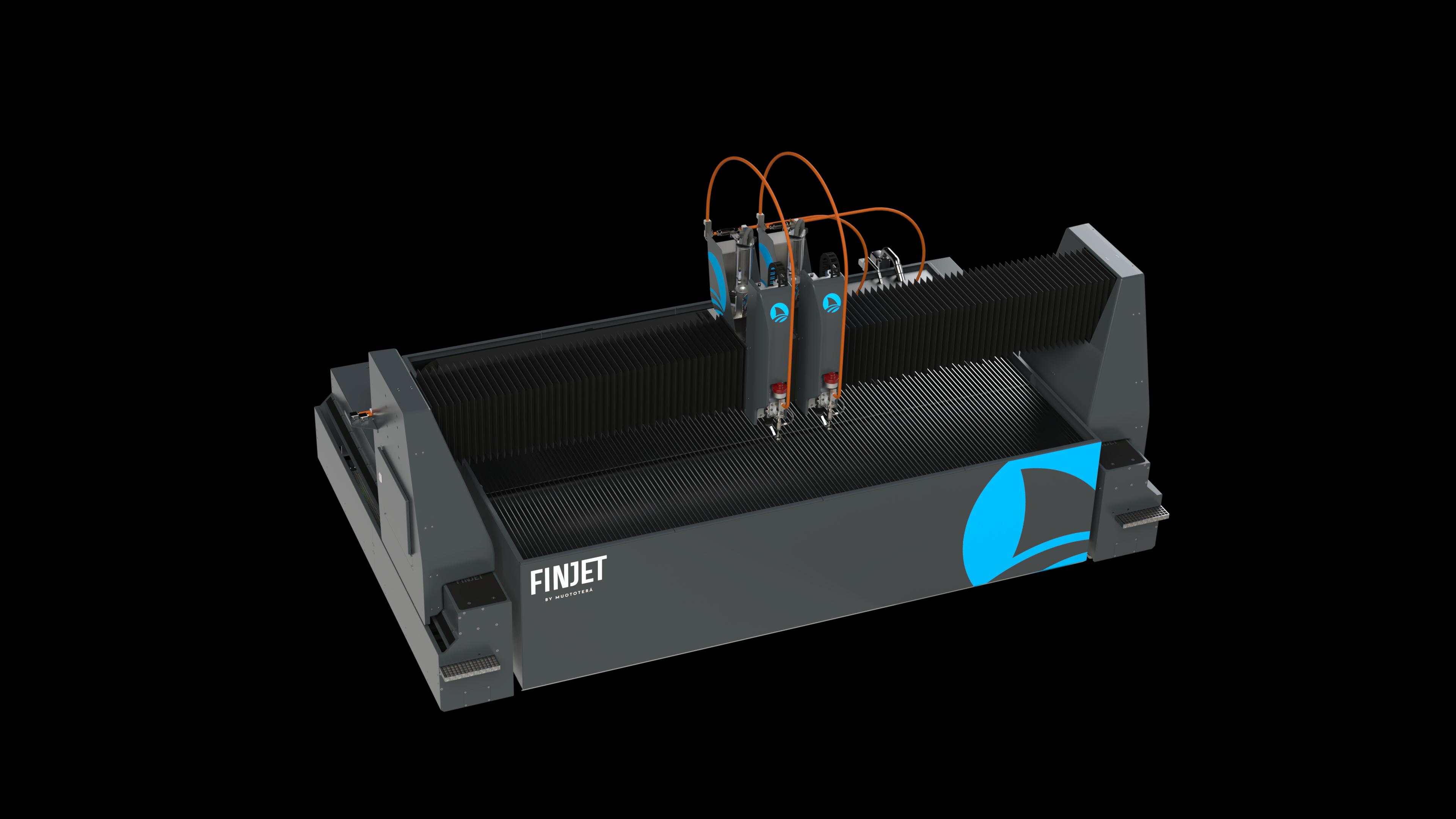 FinJet H cutting machine
